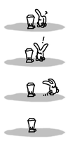 Bunny discovers a juicer by JezMM