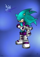 Sin the Hedgehog by Psychograve