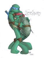 TMNT To The Rescue 2 - colored by Hiso-chan