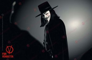 V for Vendetta by MauricioMassami