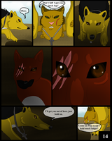 The Beginning of the End Page 14 by RafikiThePacmanFrog