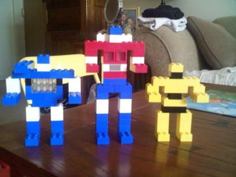 Lego Transformers by AdamC11779