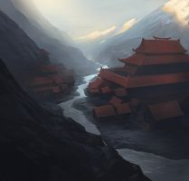 Law of Darkness Dojo by noahbradley