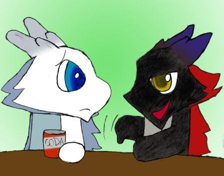 Ebby's Magic Trick by Wolf-Grr