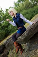 Android 18 by Lie-chee
