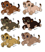 Adoptables cubs - Closed by ArticWolf14