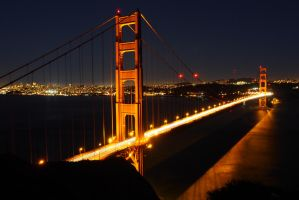 Golden Gate Bridge from the Marin Headlands by rennfahrer