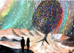 The Rainbow Tree by lazysongwriter