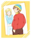 Cartman x Butters REPRESENT by stardroidjean