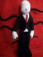 Slender Man, Slendy, Slenderman plush! by PollyRockets