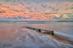 Ocean Grove Beach hdr by DanielleMiner