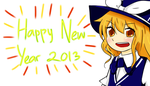 Happy New Year 2013~! by echa1999