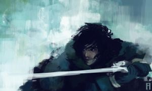 Lord Snow by merry-zazoue