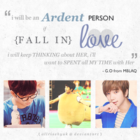 MBLAQ G.O's Quote by AllRiseHyuk