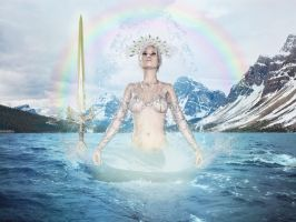 Lady Of The Lake by Pyrare