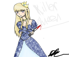 'She's a killer queen' by TheAwesomeNordics
