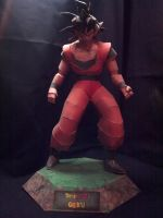 Papercraft Goku by Xanokah