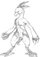 Combusken Outlines by Nazgul-w