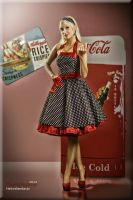 Pin up Coca Cola by KaylaDavion