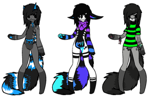 Kindariku Adoptables [Open] by Mulch-Adopts