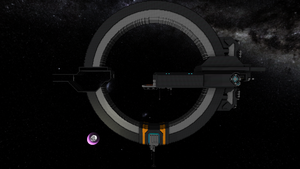 NIF Support Frigate: Day 6 by Dimcreaper