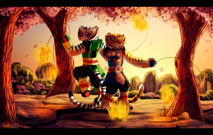 Fire Masters. by Suzamuri