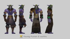 Young Malfurion Stormrage by Vaanel