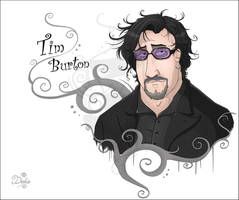 Tim Burton by black-angel1992