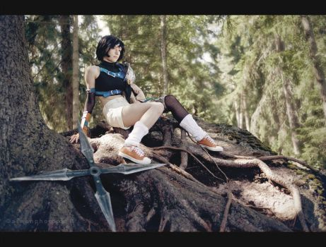 Roots of wood - Yuffie cosplay by Narga-Lifestream