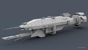 B5 Warlock Destroyer WIP 4 by 2753Productions