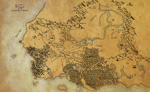 Hyrule and surrounding WIP by Asraniel