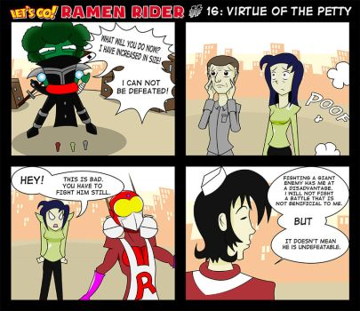Let's Go Ramen Rider #16 by ZiahY0nchume