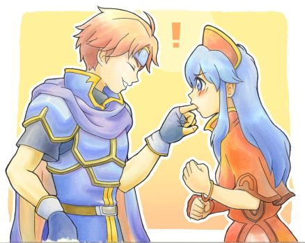 Roy and Lilina by he-taro
