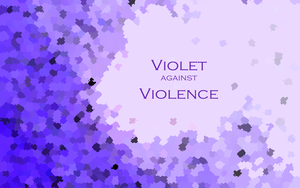 Violet against Violence WP by heavenriver