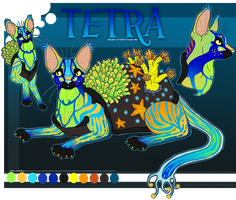 tetra the turtliecat by plumwined