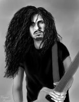 Dimebag Darrell (sketch) by VincentFurnier
