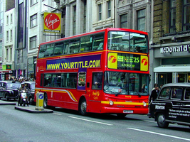 London bus template by wildsway18