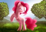 Pinkie Pie by Daedric-Pony