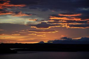Icelandic sunset v2 by stephanieromy
