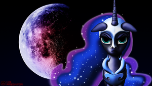 Luna's Corruption - Waxing Gibbous by TsaritsaLuna