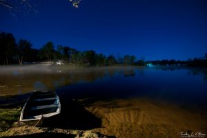 Campgrounds At Night 3 by timothylgreen