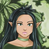 Elven Anime by Wolfypaints
