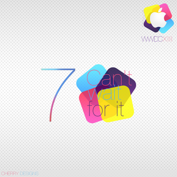 iOS 7 - WWDC'13 by CherryConcepts