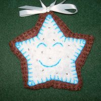 Happy Star Chocolate Cookie by UrsulaPatch