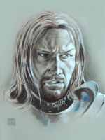 Sean Bean - Boromir - Lord of the Rings by dmkozicka