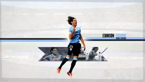Edinson Cavani Wallpaper'13 by SemihAydogdu