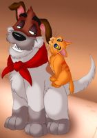 Oliver and Company - for Jenn by Taniadragon