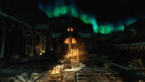 Windhelm Lights by lupusmagus