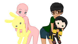 Plushie collab :OPEN: by C4PNshota