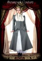 Lady Grey Victorian Coat by ByKato